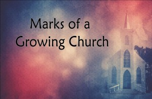 2015 Marks of a Growing Church PP Slide